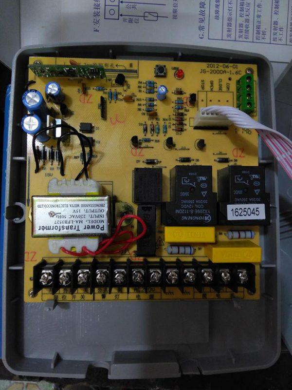 bộ điều khiển cổng xếp tự động JG
